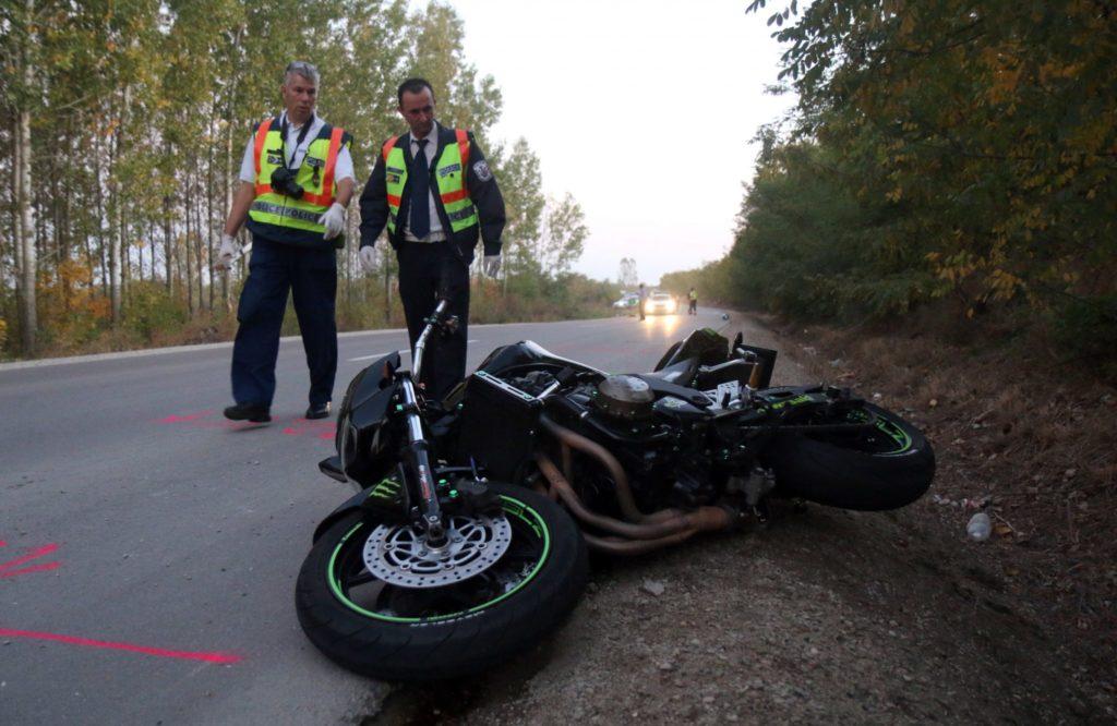 Poliția Maghiară verifică un accident pentru șofer fără permis de conducere