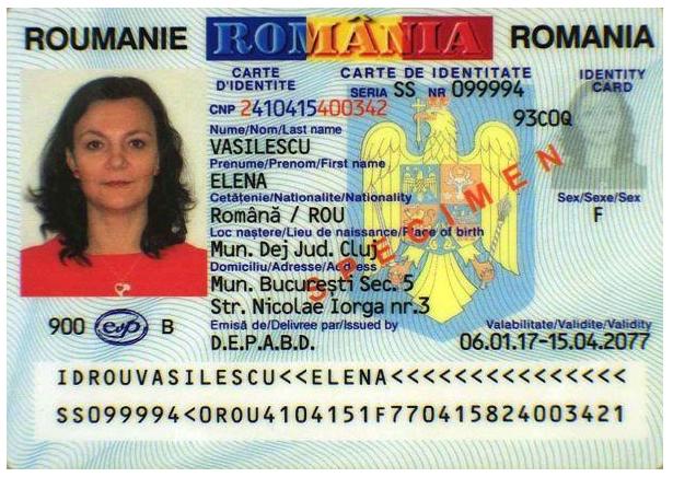 cumpărați carte de identitate autentică românească