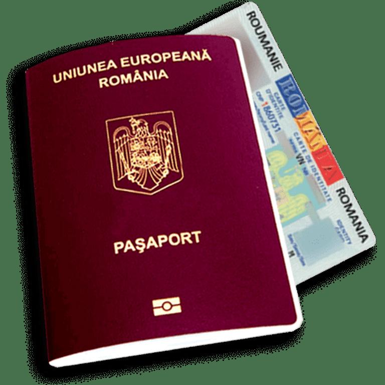 pașaport original româna-UE de vânzare