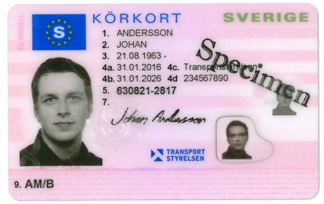 Cumpărați permise de conducere suedeze reale și false