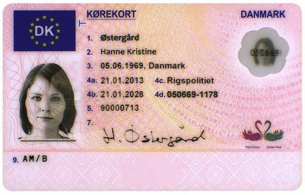 Cumpărați permisele de conducere daneze reale și false, fără a lua teste de conducere